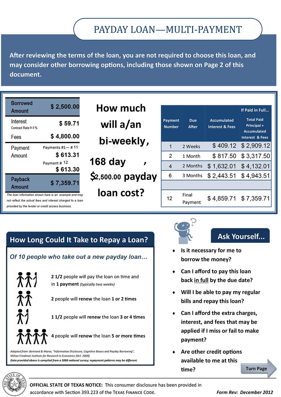 cash loan 2500